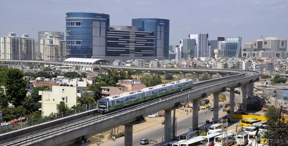 Cybercity Gurgaon view