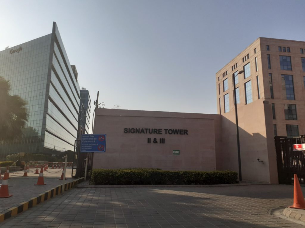 Signature Tower 2 on NH 8, Gurgaon