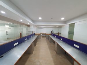 1800 sq ft fitted out office for lease at Green Park, Delhi