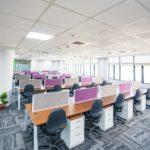 Furnished office in Udyog Vihar